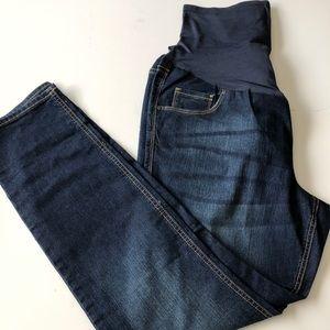 NWOT- Maternity jeans, full panel, skinny